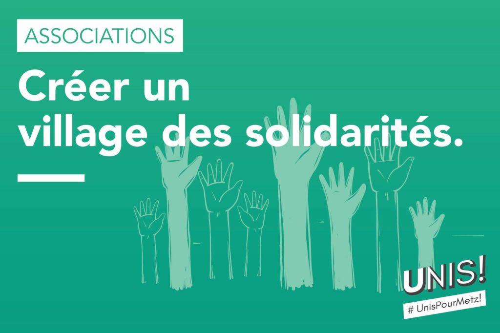 Créer un village des solidarités